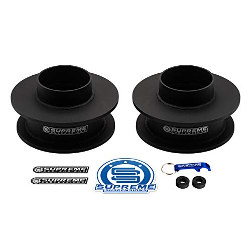 """Supreme Suspensions - 2.5"""" Rear Leveling Kit for 2009-2018 Dodge Ram 1500 High-Strength Steel Spring Spacers Lift Kit 2WD 4WD"""