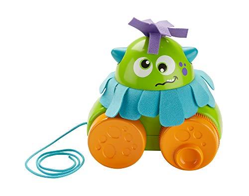 Fisher-Price Monstruito gira gira, juguete para bebé +1 año (Mattel FHG01)