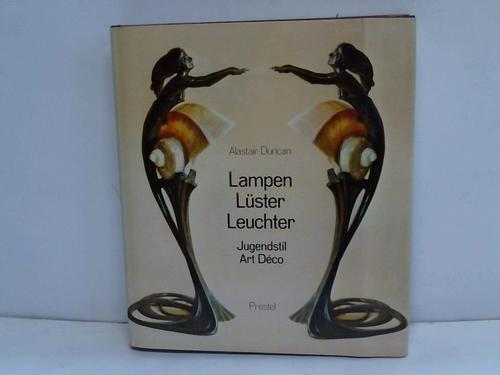 Lampen, Lüster, Leuchter. Jugendstil, Art Deco