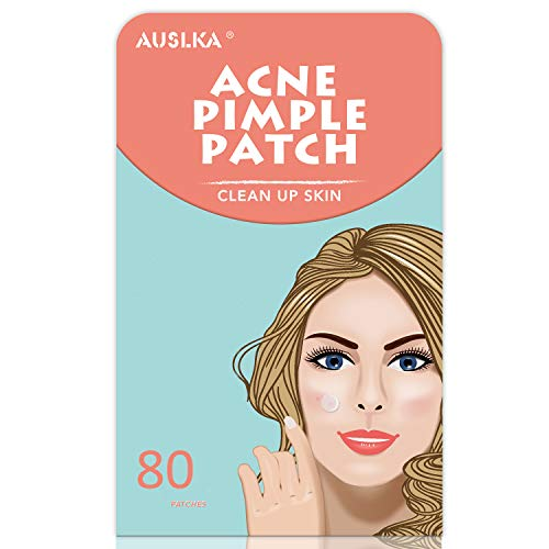 AUSLKA Akne Pickel Patch (80 Counts) Acne Pimple Patch, Pimple Pickel pflaster