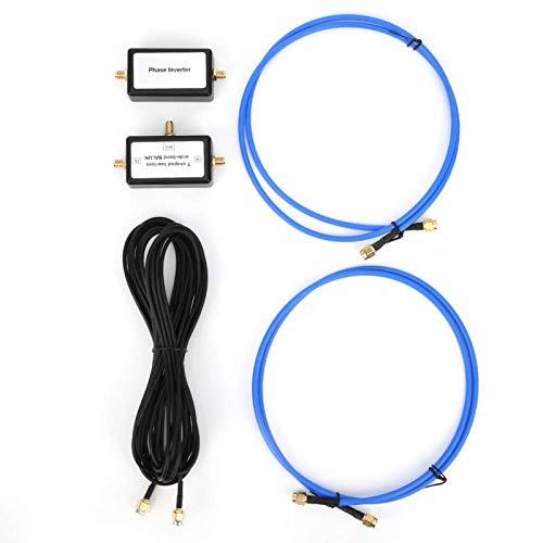 Antena magnética, antenas de bucle pasivo portátil Respuesta HF (10 kHz a 30 MHz 250 mW)