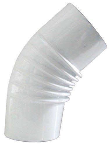 Elleboog nagellak wit 45° cm 12