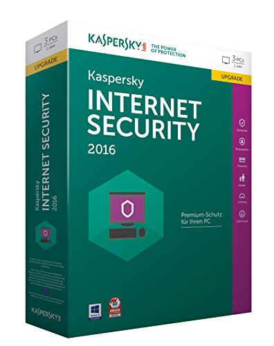 Kaspersky Internet Security 2016 Upgrade - 3 PCs / 1 Jahr