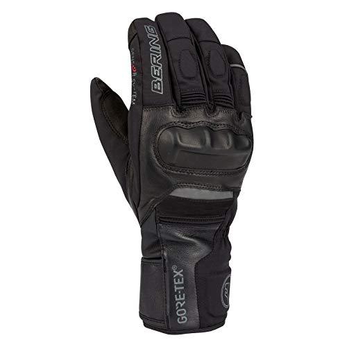 BERING Par de guantes moto Tusk Goretex Negro Talla