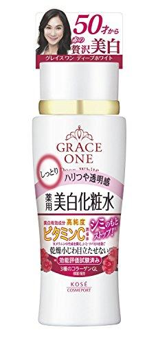 Kose Grace One Deep White Moisture Lotion 180ml -Very Moist (Green Tea Set)