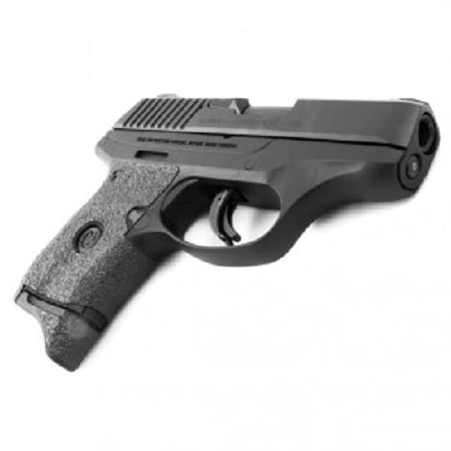 Talon Grip for Ruger LC9S Black Granulate - 508G W/ Free Sticker - Johnson Enterprises, LLC