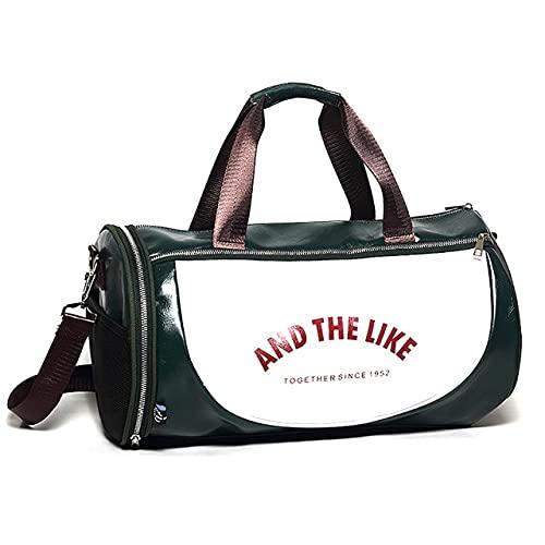 Top PU Outdoor Sports Gym Bag Uomo Donna con scarpe Storage Training Fitness Borse a tracolla multifunzione Travel Yoga Hand