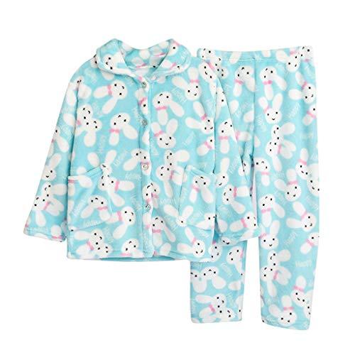 Mädchen Jungen Kids Velvet Warm Winter Pyjama 14 Stück Pjs Sets Unisex Kinder Cartoon Bär Samt Schlafanzug Outfits Flanell Bademäntel Hoodie Nachtwäsche + Schuhe Kinderkleidung