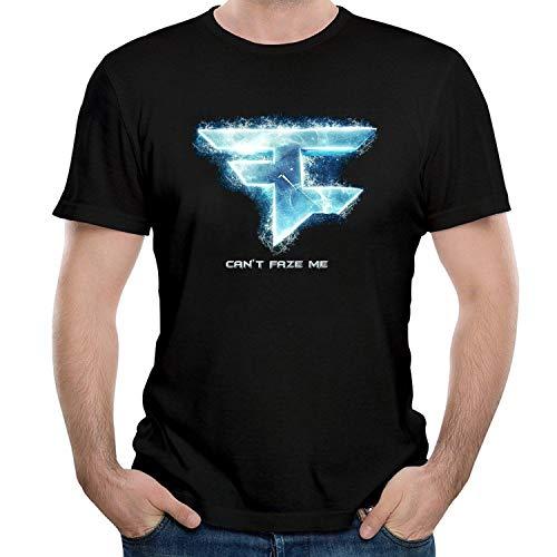 HAIZHENY Hombre Faze Clan Me Cotton Camiseta/T-Shirt tee Medium