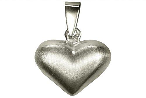 SILBERMOOS Anhänger kleines Herz glänzend Sterling Silber 925