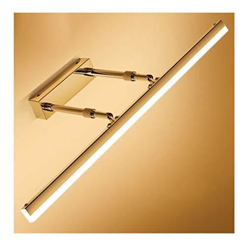 - Badkamerlamp badkamerspiegel licht LED De kop van de lamp kan omhoog en omlaag worden ingesteld 180 graden kleedkamer bekkenlamp aluminiumlegering intrekbare lamp badkamerlamp