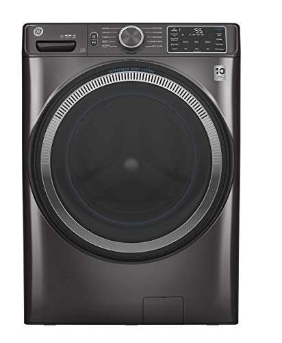 GE GFW550SPNDG 28' Front Load Washer with 4.8 cu. ft. Capacity UltraFresh Vent System with OdorBlock...