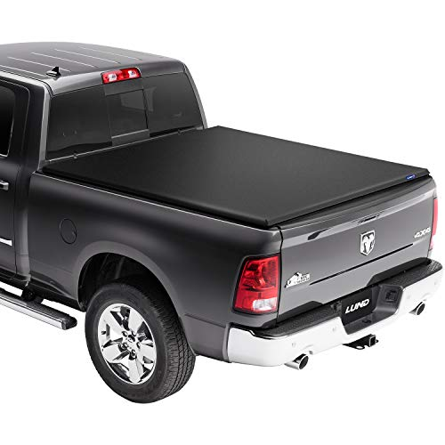 Lund Genesis Elite Roll Up, Soft Roll Up Truck Bed Tonneau Cover | 96864 | Fits 2009 - 2018, 19/20 Classic Dodge Ram 1500 6' 6' Bed (78')