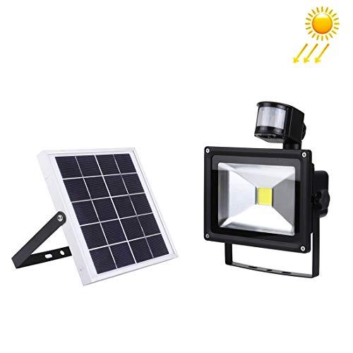 Wanda Elite Lámpara infrarroja del Reflector del Sensor del infrarrojo de la Vida 20W 1800LM Panel Solar Protección del Medio Ambiente y Ahorro de energía.