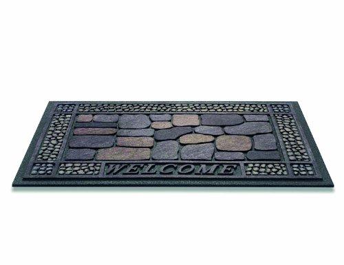 Türmatte, Fußmatte, Sauberlaufmatte Design Stone ca. 45 x 75 cm
