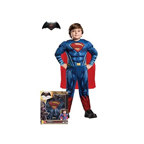 Superman Disfraz para nios, Talla M (Rubie's Spain 620432-S)