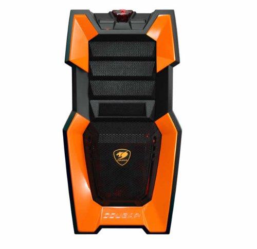 Cougar ATX/mATX Gamer Tower Case, Orange Challenger-O