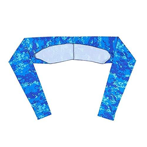 DFD Attività All'Aperto signore scialle polsino guanti scialle maniche di ghiaccio seta crema solare maniche estate protezione UV abbigliamento, Ml, taglia unica