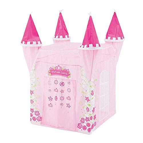 ICDOT Kids Play Tent Princess Castle Play House Tent Kids Indoor Outdoor Portable Playhouse Gift For Girls Kids Children (Color : -)
