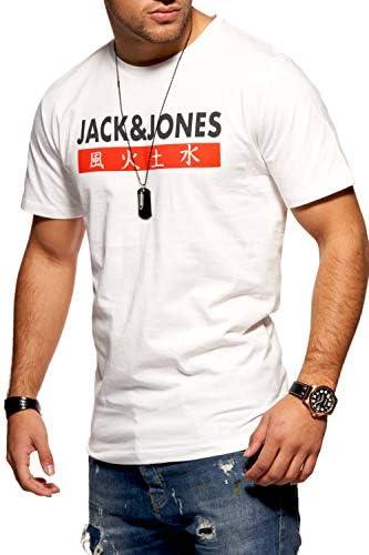 Jack & Jones Camiseta Manga Corta Hombre Imprésion Streetwear