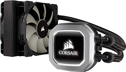 Corsair Hydro H75 Wasserkühlung (120mm Lüfter, All-in-One High Performance CPU) schwarz