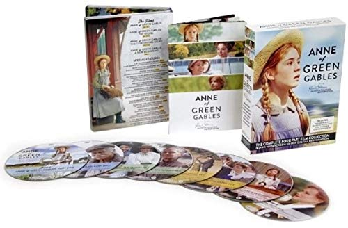 Anne of Green Gables: The Kevin Sullivan Restoration - The Complete Four Part Film Collection - DVD Box Set