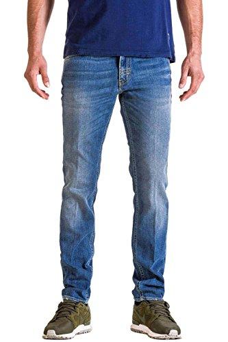 Meltin'Pot Maner Jeans Slim, Blu (Denim Blue), W34/L34 (Taglia Produttore:34) Uomo