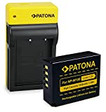 PATONA Bateria NP-W126 con Estrecho Cargador Compatible con Fujifilm FinePix HS30EXR HS33EXR HS50EXR XPro-1 XPro-2