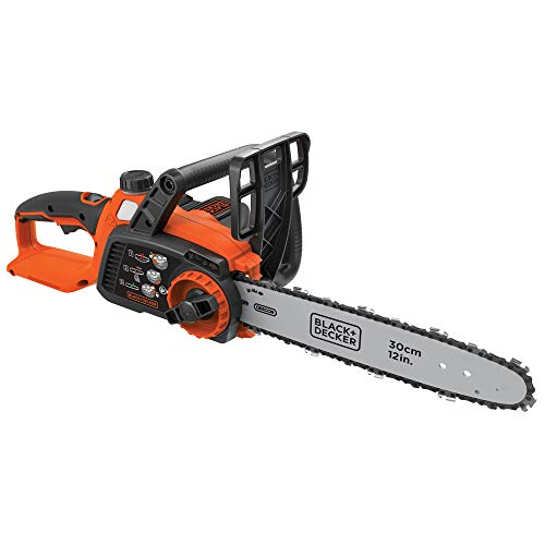 Black & Decker LCS1240R 40V MAX Lithium-Ion 12 in. Chainsaw (Renewed)