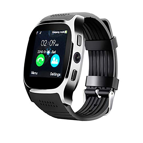Glomixs T8 Smart Watch Bluetooth, Bluetooth Smart Watch, Fitness Tracker, Smart Watch, Smartwatches,T8 Smart Watch Bluetooth Support Card Call Sleep Monitoring Bluetooth Watch