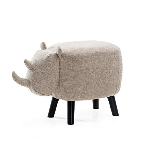 PLL eenvoudige kruk kinderen creatieve schoenen kruk massief houten kruk kruk deurschoenen schoenen cartoon dier zitkruk olifantenkruk