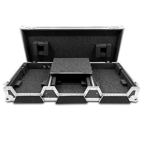 Total Impact TIP DJ Coffin Case Pioneer CDJ2000 / DJM900 12.5' Mixer & Laptop Shelf Workstation