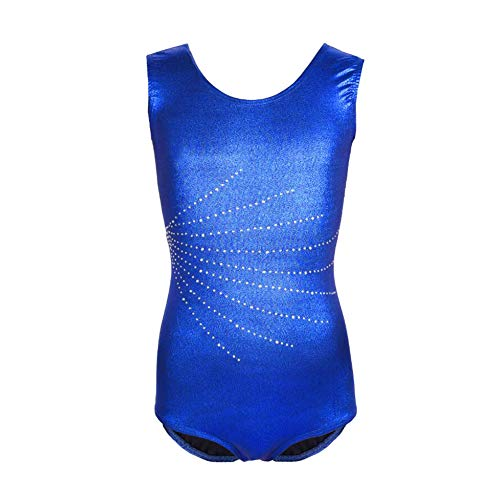 Meijunter Fille sans Manches Dancewear Vetements de Gymnastique Bodysuit Ballet Justaucorps