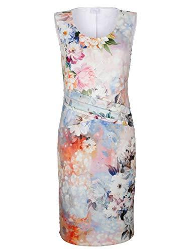 Alba Moda Damen Kleid Rosé 40 Kunstfaser