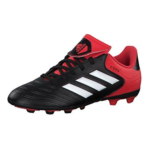 adidas Unisex-Kinder Copa 18.4 FxG Fußballschuhe, Schwarz Cblack Ftwwht Reacor Cblack Ftwwht Reacor, 38 EU