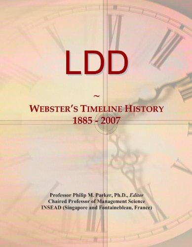 LDD: Webster's Timeline History, 1885 - 2007