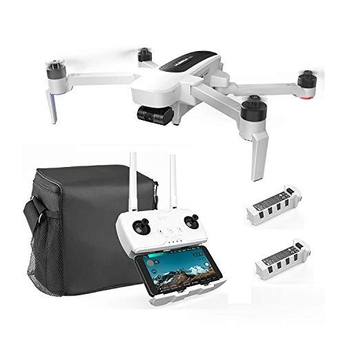 Hubsan Zino GPS FPV Drone Pliable 4K Caméra avec 3 Axes Cardan WiFi APP Contrôle (Version Portable)