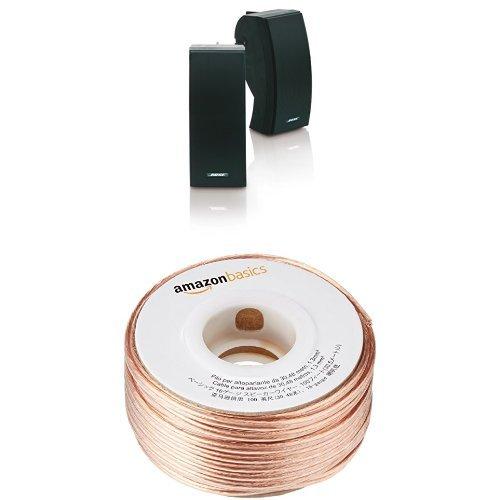 Bose 251 Outdoor Speakers with 100 Feet 16-gauge Speaker Wire