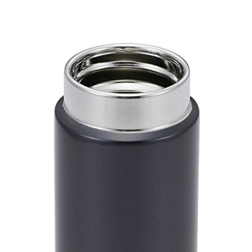 『タイガー魔法瓶 水筒 スクリュー マグボトル 6時間保温保冷 200ml 在宅 タンブラー利用可 パウダーブラック MMP-J020KP』のトップ画像