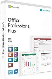 Office Professional Plus 2019 - Windows (1 User - License key) No CD