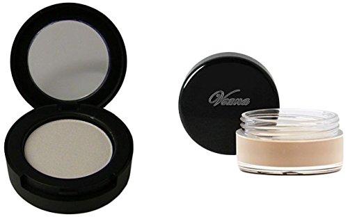 Veana Set: Mineral Lidschatten + Primer Pearl White, 1er Pack (1 x 10 g)