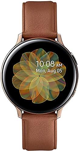 Samsung Galaxy Watch Active 2 - Pulsera de Seguimiento de Actividad física (Acero Inoxidable, Pantalla Grande, batería de 44 mm), Color Dorado