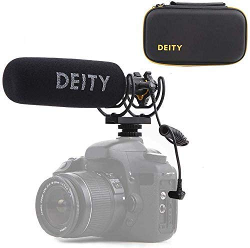 Deity V-Mic D3 Pro Super-Cardioid Directional Shotgun Microphone with Rycote Shockmount for DSLRs, Camcorders, Smartphones, Tablets, Handy Recorders, Laptop and Bodypack Transmitters Broadcast Grade Shotgun Microphone