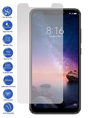 Todotumovil Protector de Pantalla Xiaomi Redmi Note 6 Pro de Cristal Templado Vidrio 9H para movil