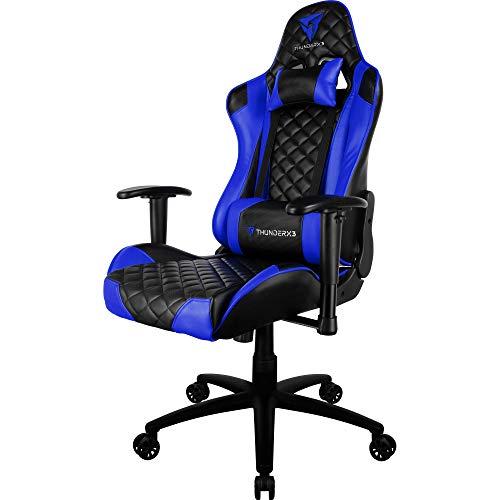 ThunderX3 Tgc12 Cadeira - Windows, Footprint, Preto/Azul