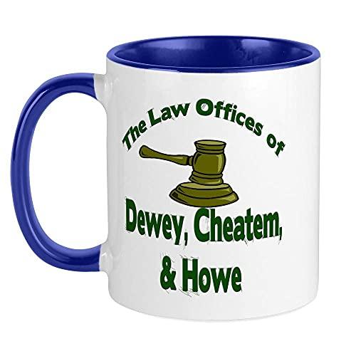 XCNGG Taza de Dewey, Cheatem y Howe Taza de café única, taza de café