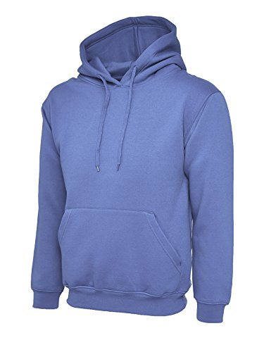 Uneek clothing - Sweat-shirt - - Uni - À capuche - Manches longues Homme - Violet - Violet - Large