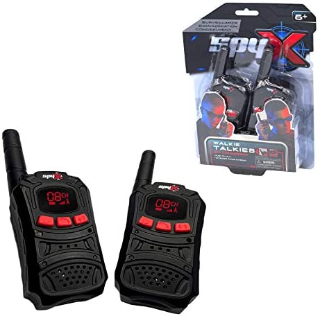 SpyX Spy Walkie Talkies Made for Small Hands and Doubles as a Spy Toy for Buddy Play Perfect product image