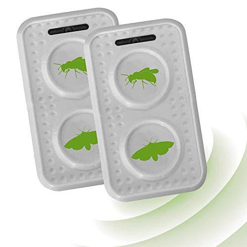 ISOTRONIC Ahuyentador de polillas y avispas con ultrasonidos | Repelente