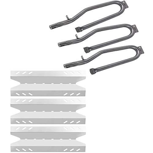 Htanch SN6431 (3-Pack) SA6431 (3-Pack) Heat Plate and Burner Replacement for Members Mark BQ05046-6, BBQ Pro BQ05041-28, BQ51009 Outdoor Gourmet B09SMG1-3F, BQ05037-2, BQ05046-6A, BQ06042-1, BQ06W03